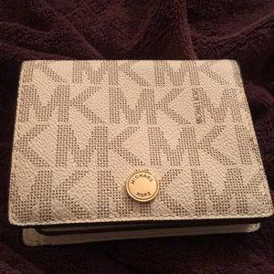 MK Michael Kors Foldover Mini Wallet